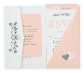 For You With Love Pocket Invitations