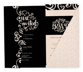 Love Letters Pocket Invitations
