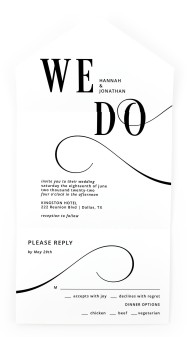 Love Infinity All-in-One Wedding Invitations