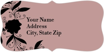Whimsy Wonderland Return Address Labels