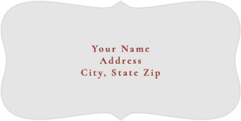 Featured Beloved Return Address Labels