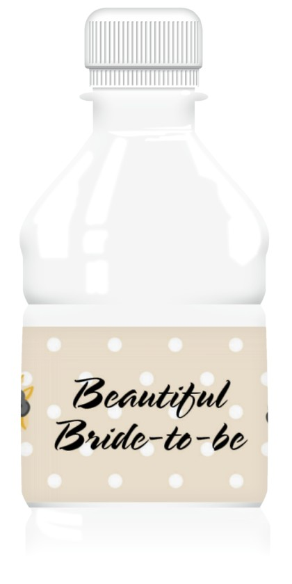 Sweet As Pie Wedding Water Bottle Labels
