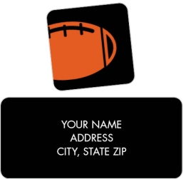 Ticket to Love Return Address Labels