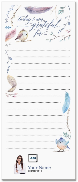 Natural Reflections Notepad Without Magnet
