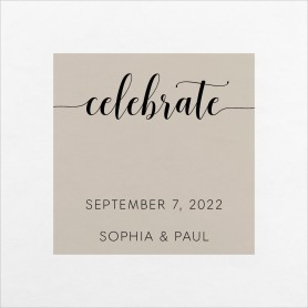 True Celebration Wedding Napkins