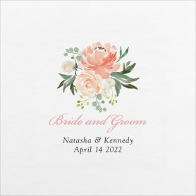 Luxe Floral Wedding Napkins