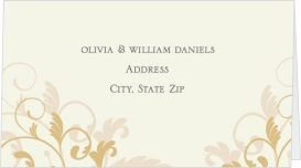 Classic Allure Wedding Place Cards