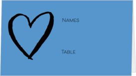 Simply Forever Wedding Place Cards