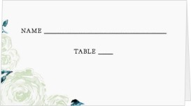 Enchanted Bliss Wedding Place Cards