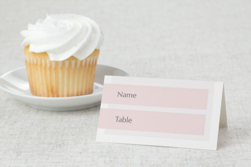 Exquisitely Simple Wedding Place Cards
