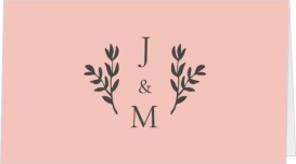 Floral Bliss Wedding Place Cards