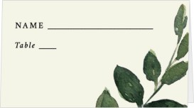 All for Love Wedding Place Cards
