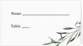 Tender Twig Wedding Place Cards