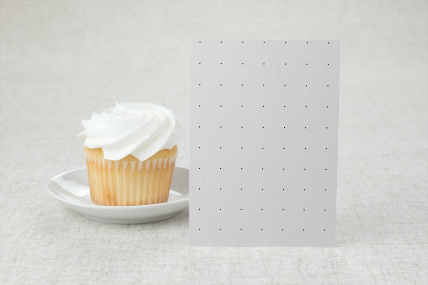 Poppy Dots Wedding Table Numbers