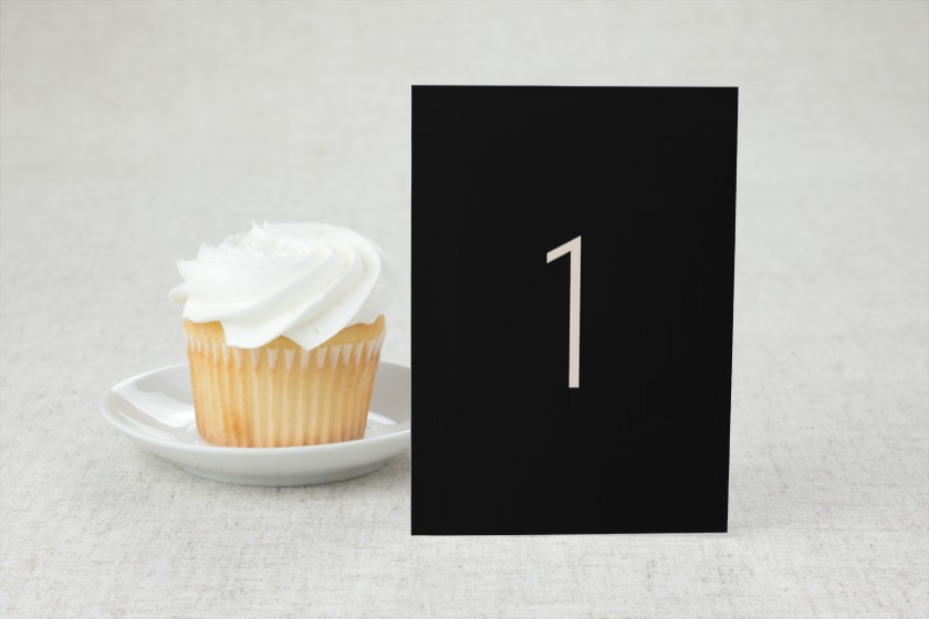 Spectacular Romance Wedding Table Numbers