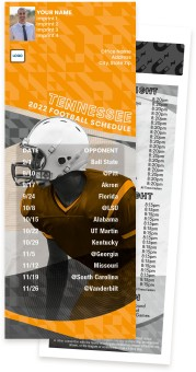 Tennessee Football Schedule Magnets