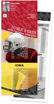 Iowa + Iowa State Football Schedule Magnets