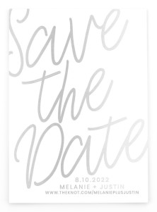 Modern Mark Save the Date Postcards