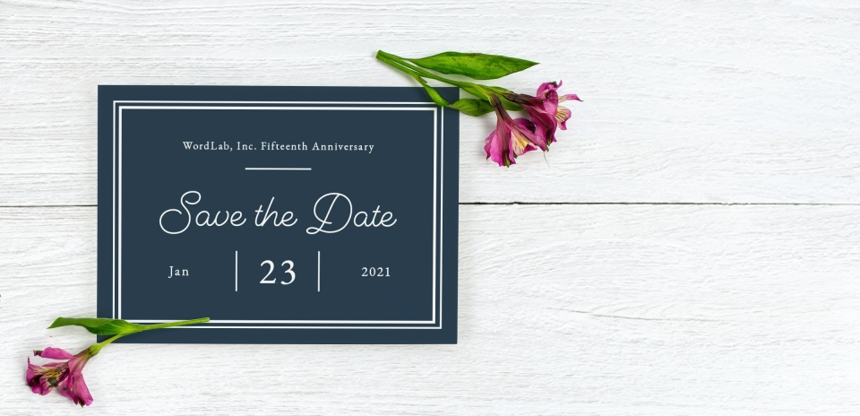 Save the Date Postcard Front
