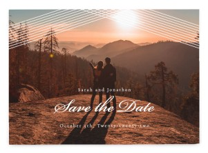 Dearest Lines Save the Date Postcards