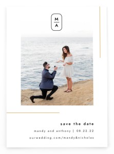 The Proposal Save the Date Postcards