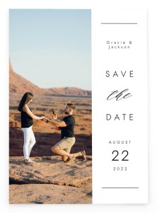 Perfect Together Save the Date Postcards