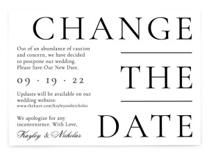 Timeless Change the Date Change the Date Postcards