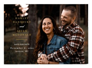 Grounded in Love Save the Date Postcards