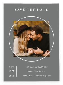 Heavenly Harmony Save the Date Postcards