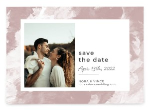 Painted Passion Save the Date Postcards