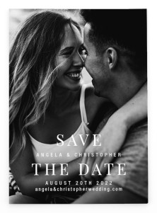 Lovely Memory Save the Date Postcards