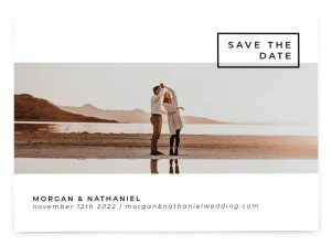 Passionate Panorama Save the Date Postcards