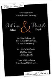 Made for Each Other Rehearsal Dinner Invitations