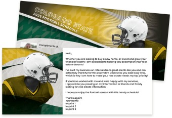 Colorado State Rams Marketing Inserts