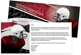 South Carolina Gamecocks Marketing Inserts