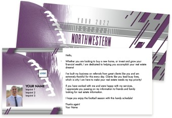 Northwestern Wildcats Marketing Inserts