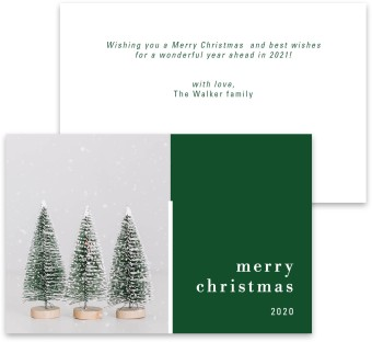 Breathless Christmas Christmas Card Inserts