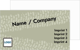 Tire Center Paper Business Cards
