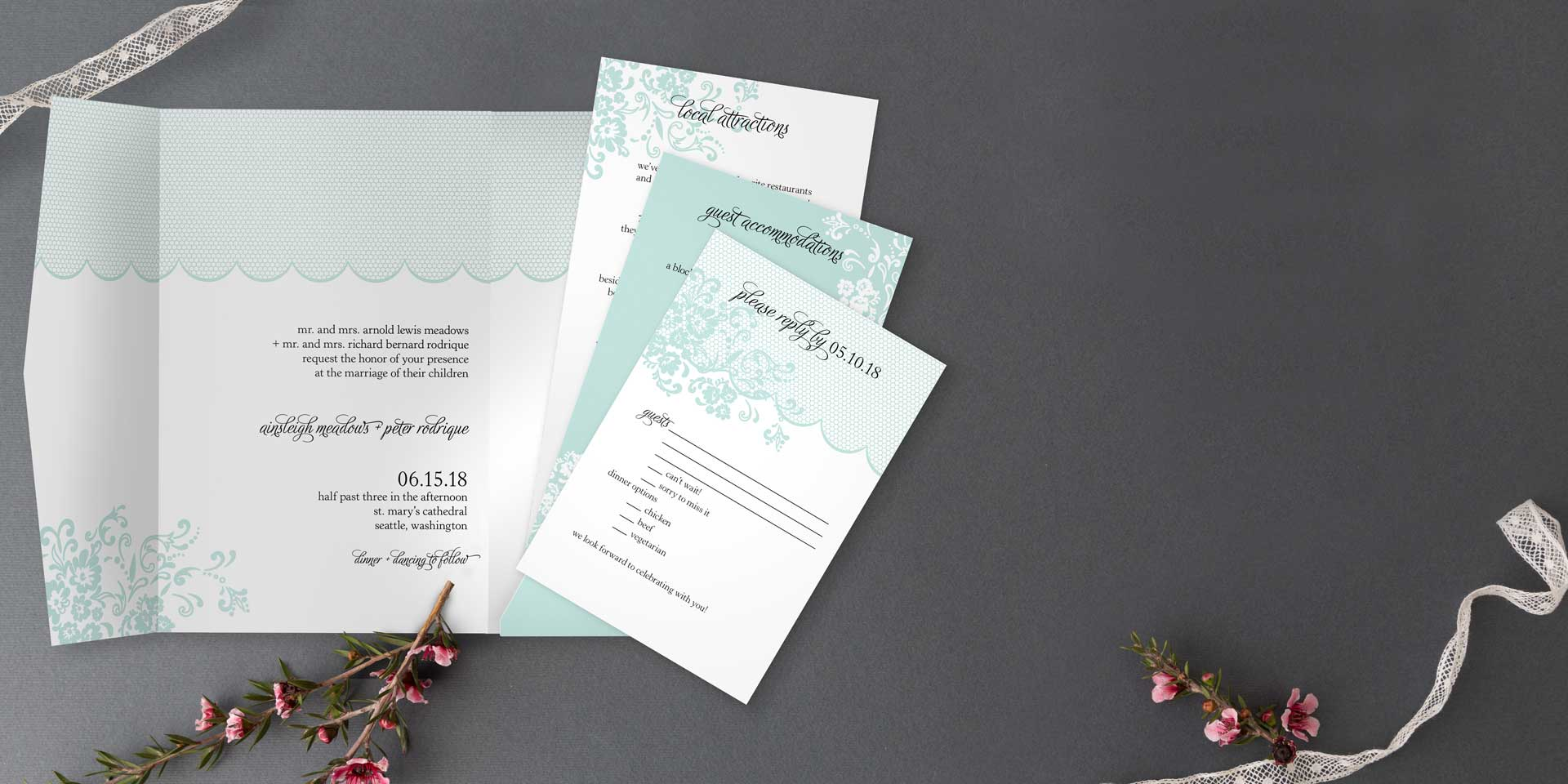 Pocket Wedding Invitations Match Your Style – Cool Places to Send Wedding Invitations