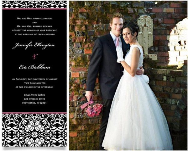 Groom Style Wedding Invitations