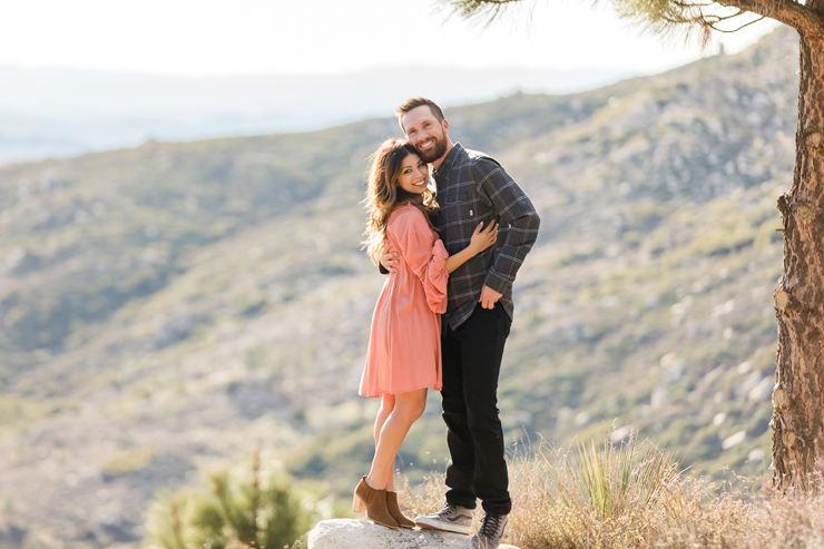 Surprise Mountaintop Proposal in Idyllwild, California