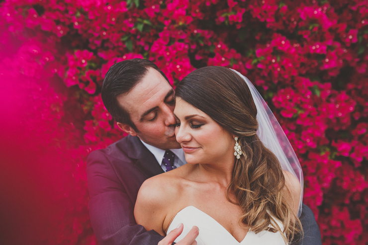 Sunny Palm Springs Wedding Full of Hot Color Infusion