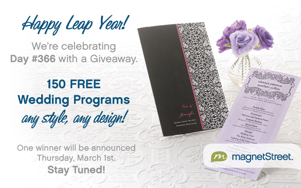 Free Wedding Programs
