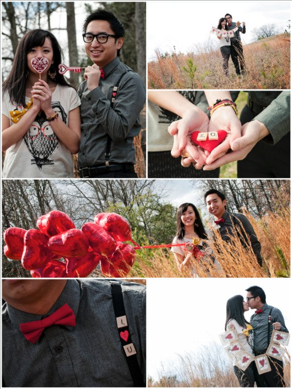 Valentine's Day engagement pictures