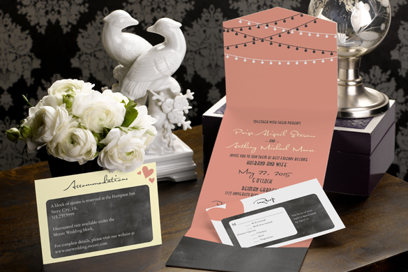 Pocket Wedding Invitation Suite from MagnetStreet + 6 planning pitfalls to avoid.